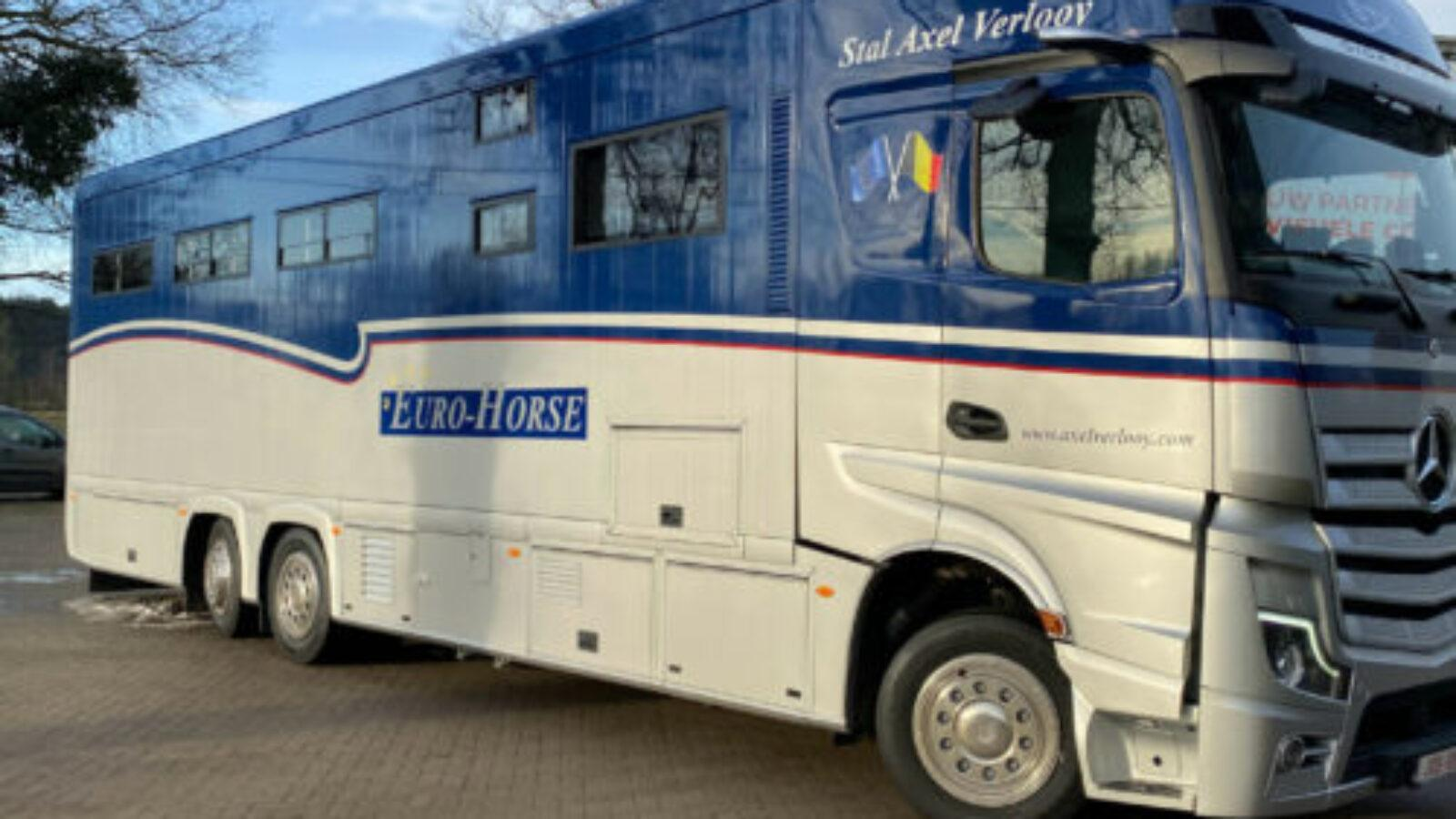 Euro Horse Axel Verlooy wagenbelettering