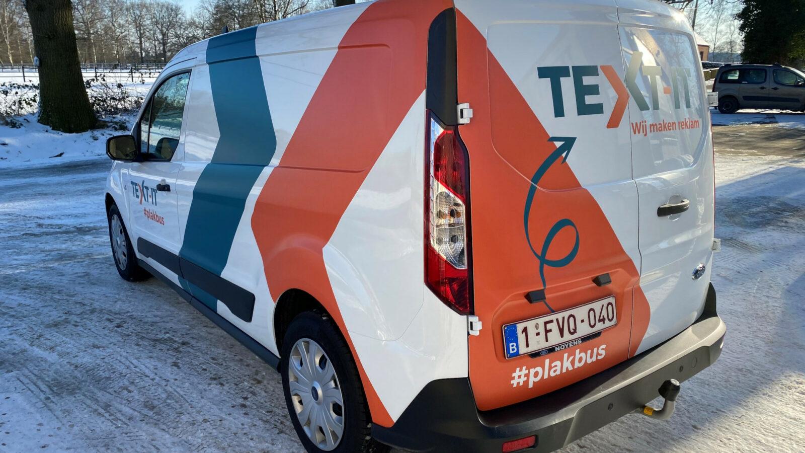 Plakbus - TEXT-IT