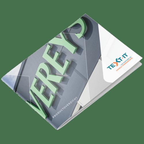 TEXT-IT producten brochure